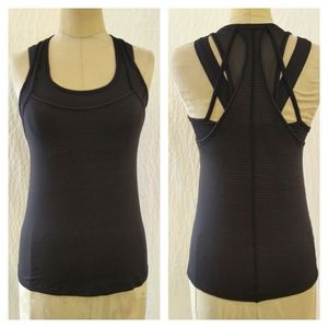 Racerback Tank w/ Built-In Bra